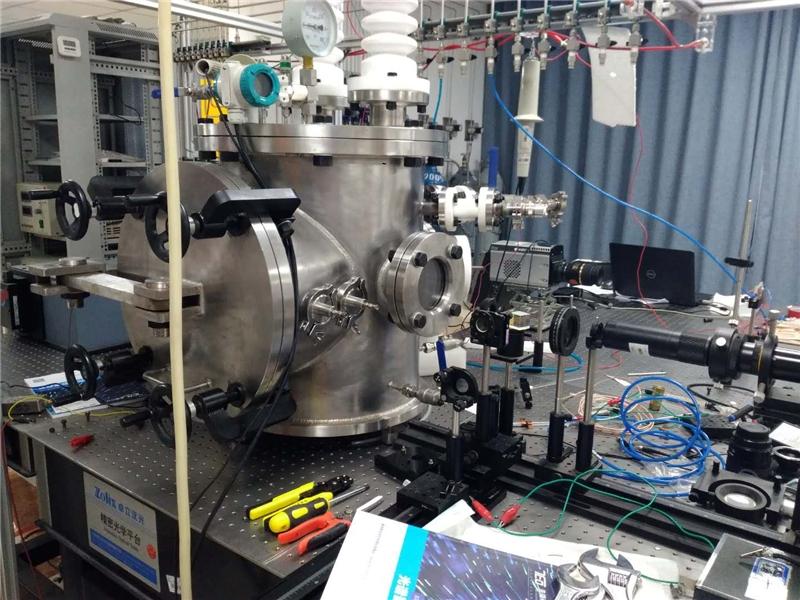 西安交通大学电气学院等离子实验室放电试验腔体