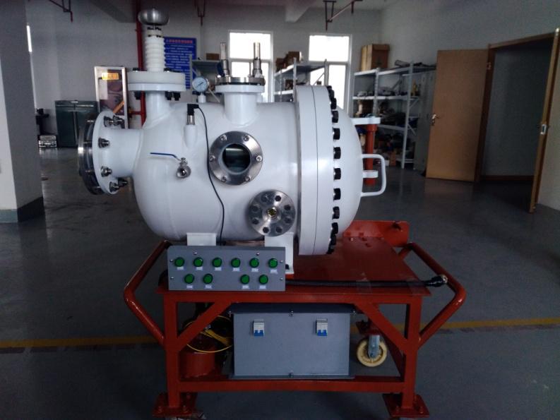 放电电荷分布及绝缘子缺陷影响分析高压试验装置